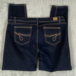 Jordache Skinny Jeans Size 18 Dark Wash High Waisted